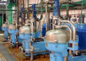 Separatory mleczka skrobiowego