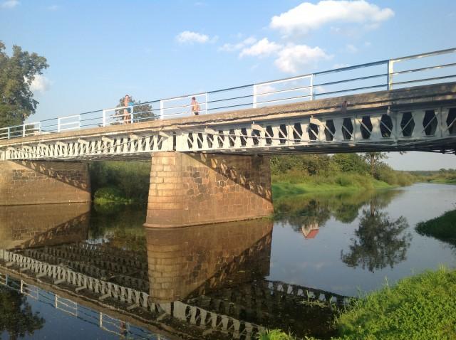 Most na Baryczy w Szaszorowicach