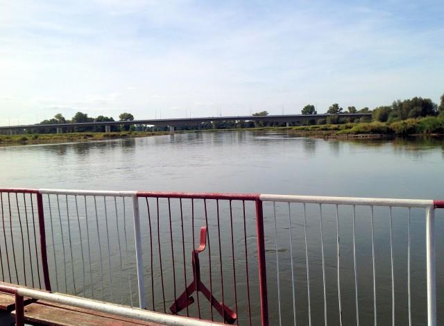 Most łączący powiat lubiński z powiatem górowskim
